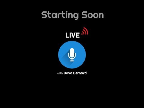 Zwift Live with Dave Bernard 10-24-19