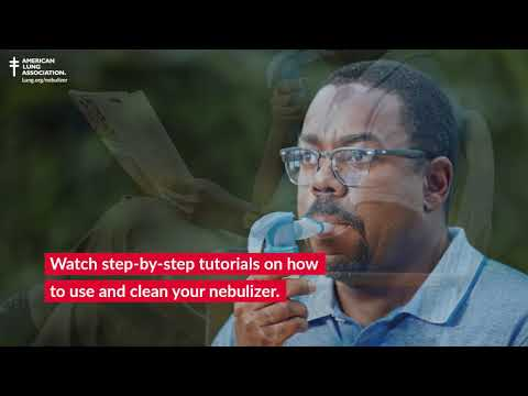 How to Use & Clean Your Nebulizer | American Lung Association