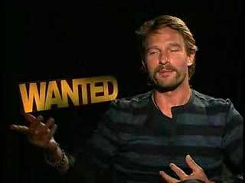 Thomas Kretschmann interview for Wanted - YouTube