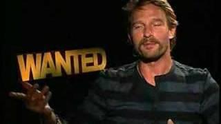 Thomas Kretschmann interview for Wanted