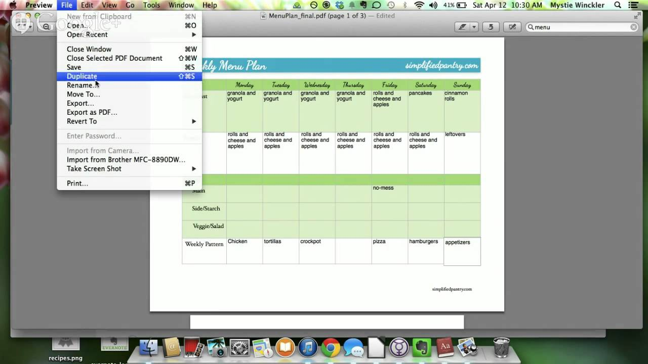 Smarter with evernote pdf work
