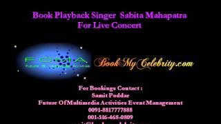 Sabita Mahapatra - Book Playback Singer Performer for live show