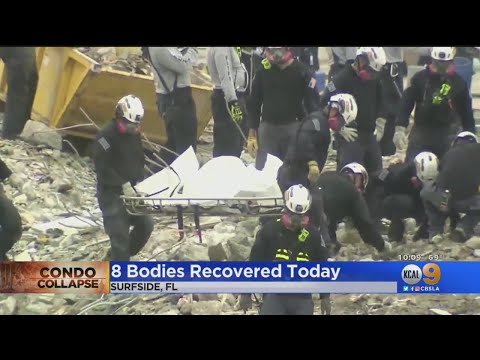 Surfside Condo Collapse: Death Toll At 36 After Total Of 8 Bodies Recovered Tuesday