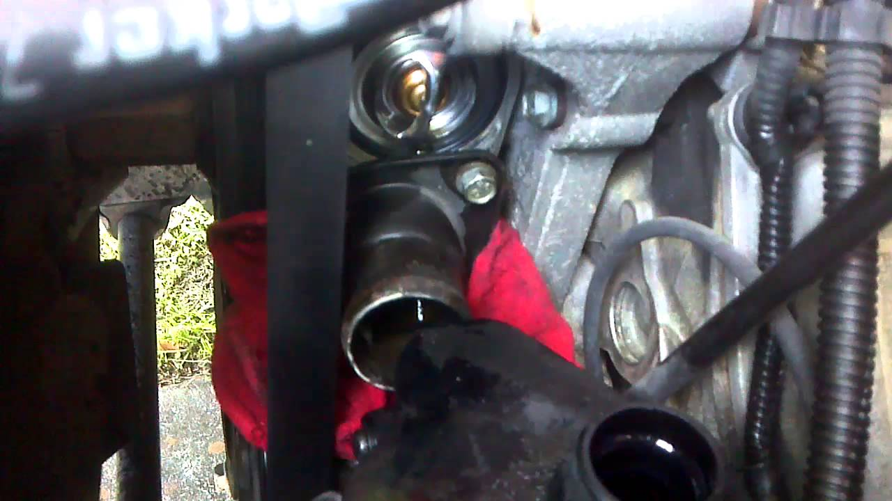 2004 Dodge 1500 5 7l Themostat Change 1 Of 2 Youtube