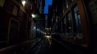 ⁴ᴷ⁶⁰ Walking NYC : Cortlandt Alley, Manhattan (The Most Filmed In Alley In NYC)