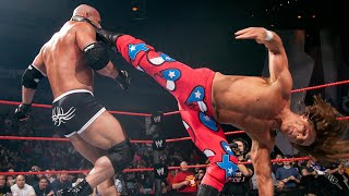 Batista returns during epic Goldberg vs. Shawn Michaels clash: Raw, Oct. 20, 2003