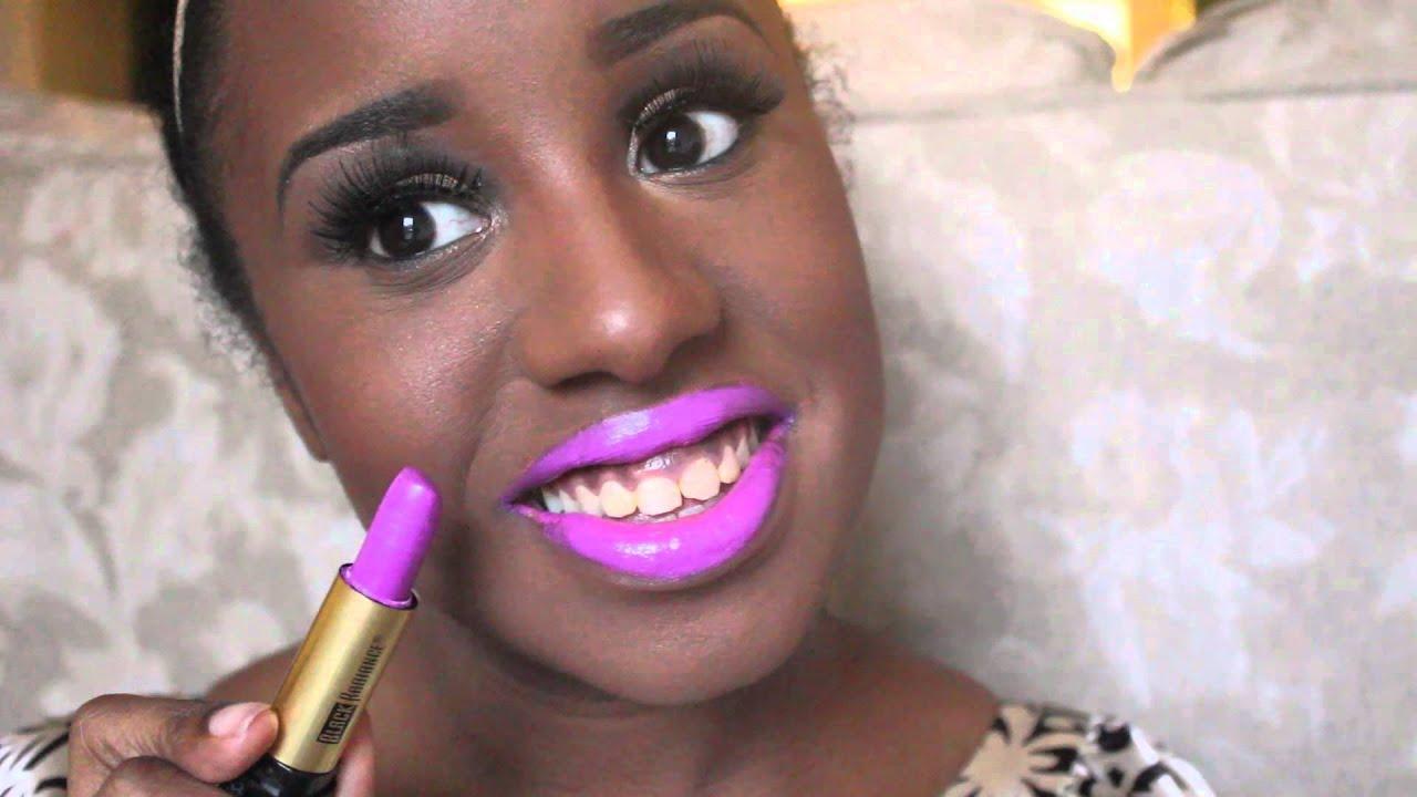 Black Radiance lipstick lip swatches $1.99 (crazy pigmented ...