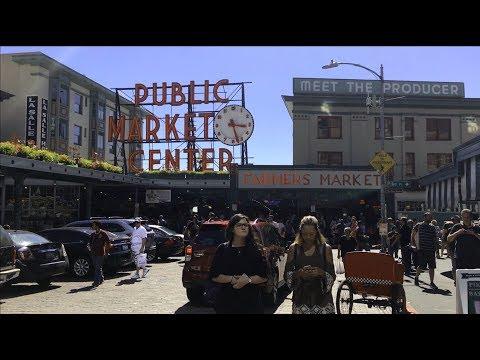 Seattle Pike Place Market Adventure 2017