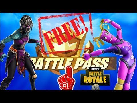🔥🔥FORTNITE FREE Battle Pass Season 10 Free skins and V-bucks