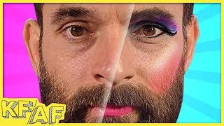Andy Does Nick's Makeup - KFAF