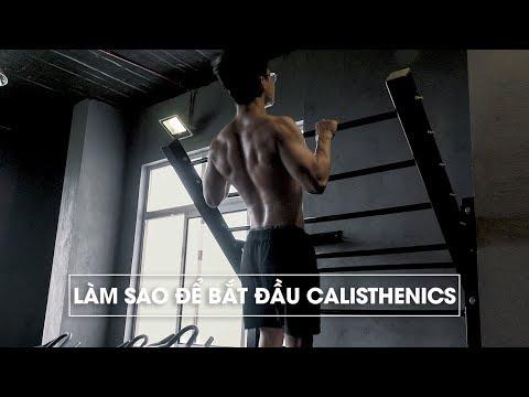 Làm sao để bắt đầu luyện tập Calisthenics/Street Workout | How to start Calisthenics | SHINPHAMM