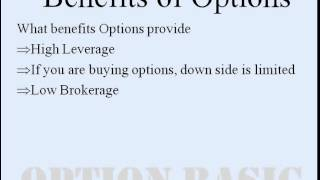 Options explained in Hindi