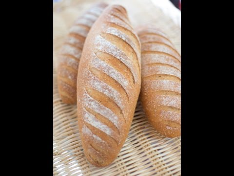 recette-de-pain-complet,-whole-wheat-bread,-خبز-أسمر