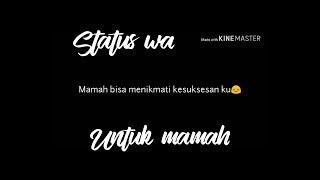Status whatsapp sedih, mamah