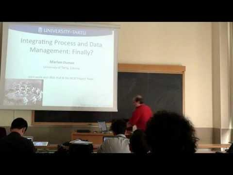 KiBP2012 - Keynote 1 - Marlon Dumas - Integrated Data and Process Management: Finally?