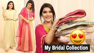 My Wedding trousseau 😍| Bridal Series | Super Style Tips