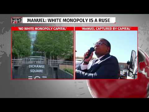 Mbalula and Manuel in white monopoly capital spat