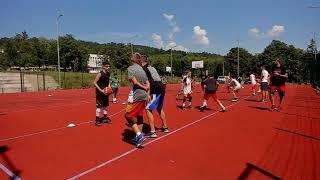 International basketball camp practice 3