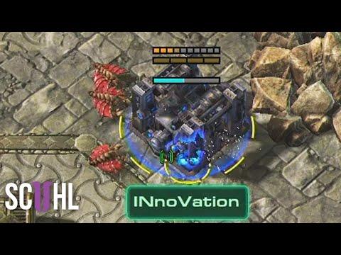 INnoVation's Fake Bunker Rush - Starcraft 2