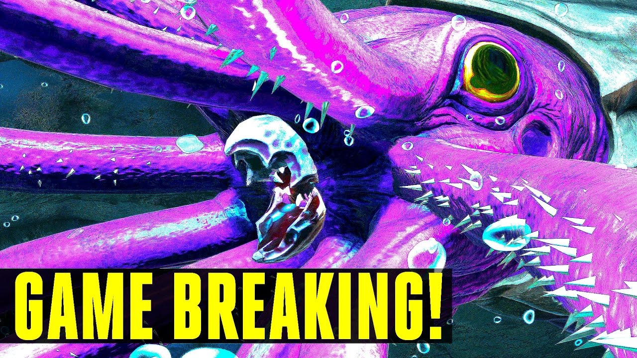 GIANT SQUID RUINED ARK! How to tame/Everything you need to know! Ark:  Survival Evolved 253