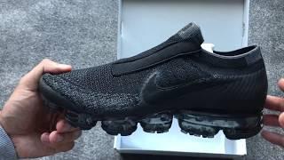Nike Air Vapormax SE Laceless Black