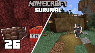 Minecraft: Best Method For ANCIENT DEBRIS  - 1.15 Survival Let's play | Ep 26