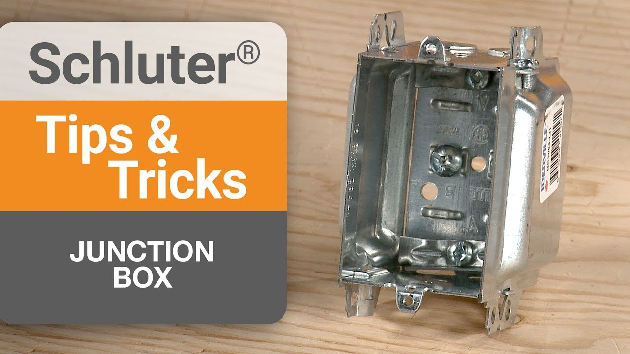 tips on junction boxes for ditra heat thermostats [ 1280 x 720 Pixel ]