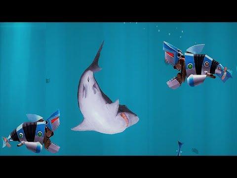 Hungry Shark Evolution Robo Shark Android Gameplay #36