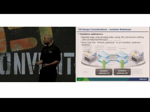VMworld 2013: BCO4872 - Operating/Architecting a vSphere Metro Storage Cluster Based Infrastructure