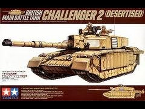 63bc1dd7e6e4 3 -- Tamiya 1 35 Challenger 2 British MBT - inbox review - YouTube