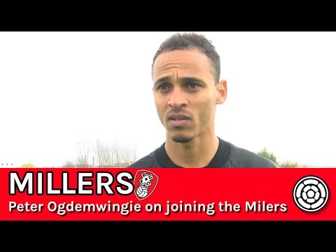 Peter Odemwingie on joining Rotherham United