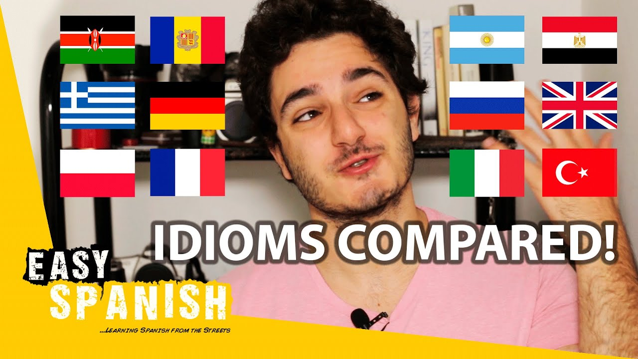 Spanish Idiom Compared: Happy as a Worm | Easy Spanish 199