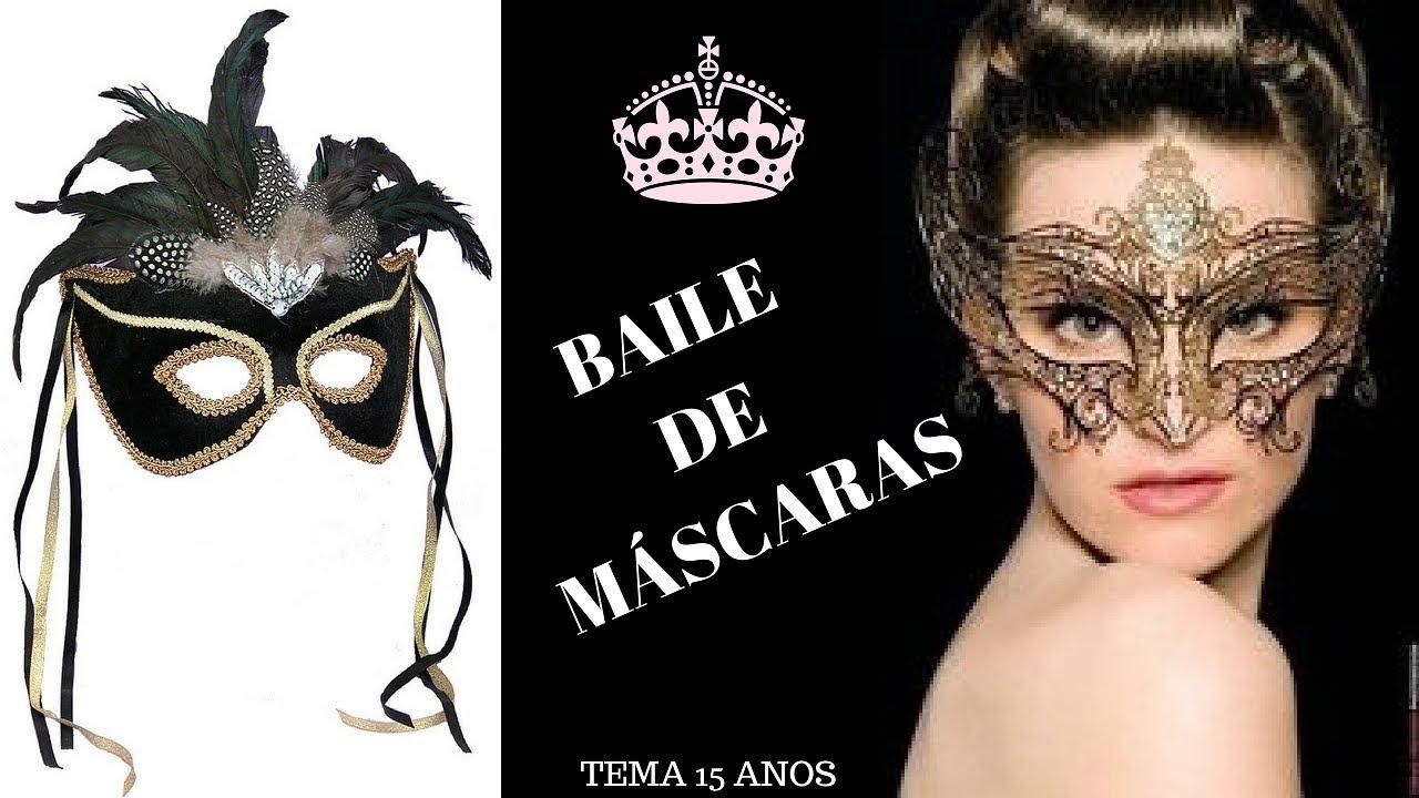 Dicas Para Sua Festa De 15 Anos I Tema Baile De Máscaras 4