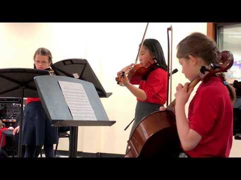 Primary pupils of The City of Edinburgh Music School