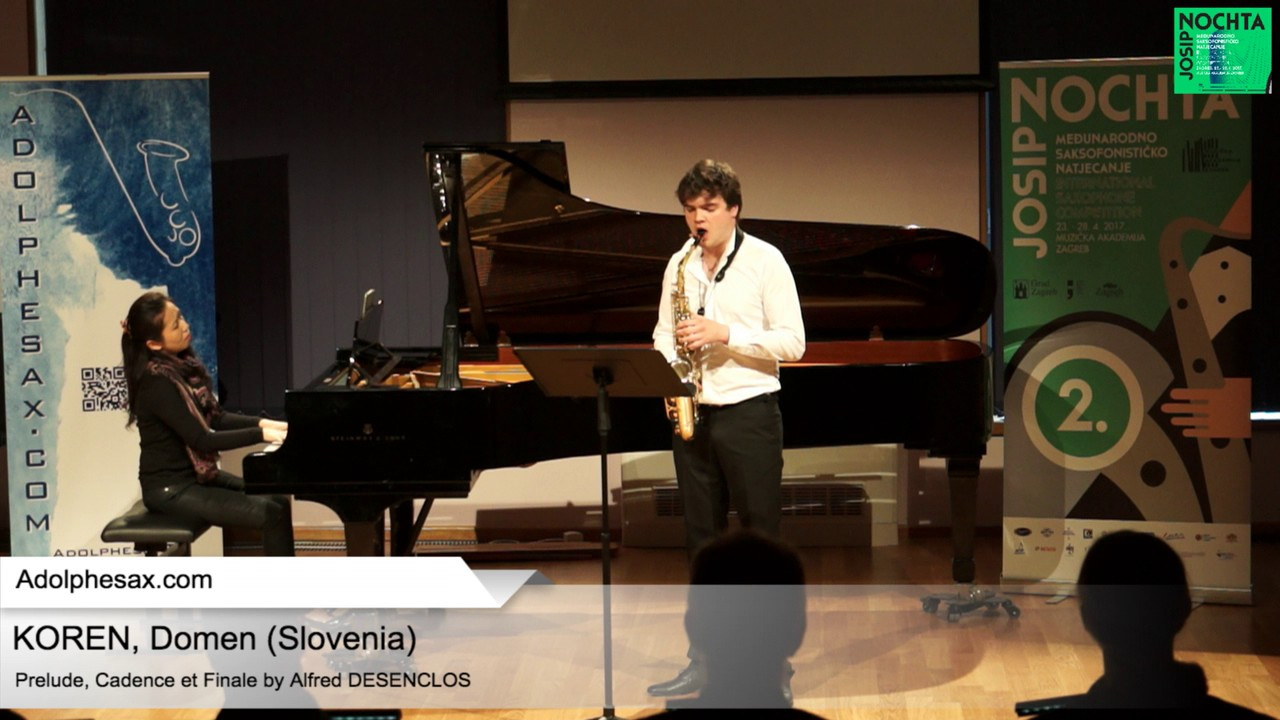Prelude, Cadence et Finale by Alfred Desenclos – KOREN, Domen Slovenia