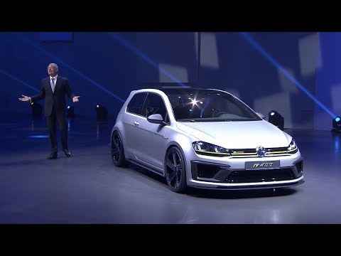World Premiere VW Golf R 400 at the Auto China