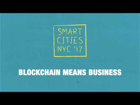 SCNY '17 : Talk - Blockchain means Business.