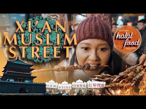 Xi'an Muslim Street - Episode 1 | Halal Street Food in China