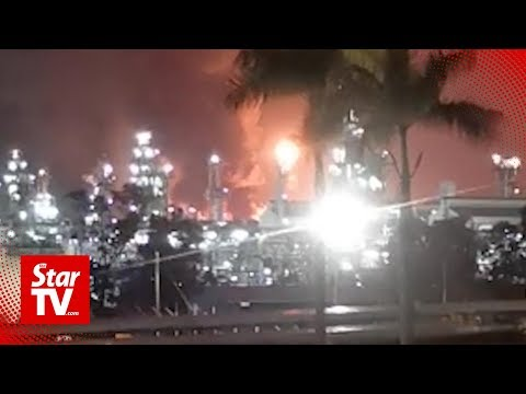 Fire at Petronas Bintulu LNG plant