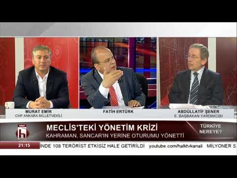 Meclis'teki Yönetim Krizi - Türkiye Nereye 7 Nisan - Abdüllatif Şener - Murat Emir 1. Bölüm