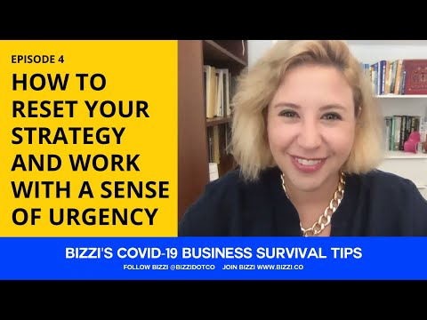 Ep 4 - HOW TO RESET YOUR STRATEGY AND WORK WITH A SENSE OF URGENCY