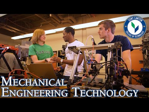 Mechanical Engineering Technology Programs at SUNY Canton