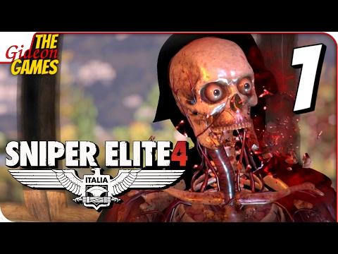 Игра Sniper Elite 4 Deluxe Edition 2017 Скачать Торрент