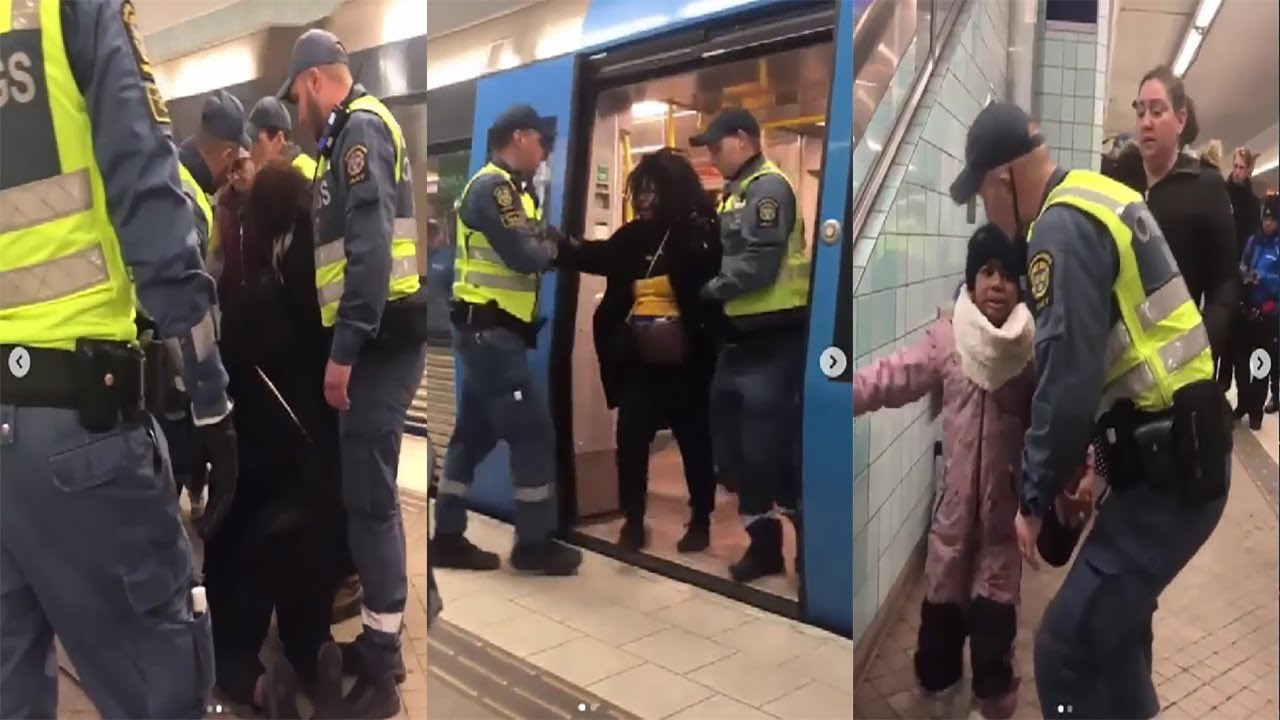Swedish Cops Pull Pregnant Black Woman Off Train In Front Of Hysterical Toddler