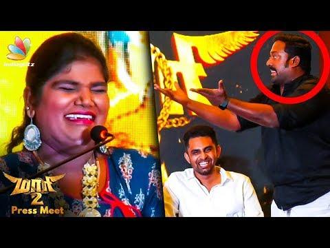 Robo Shankar is my Aranthangi Nisha Comedy Speech | Maari 2 Press Meet