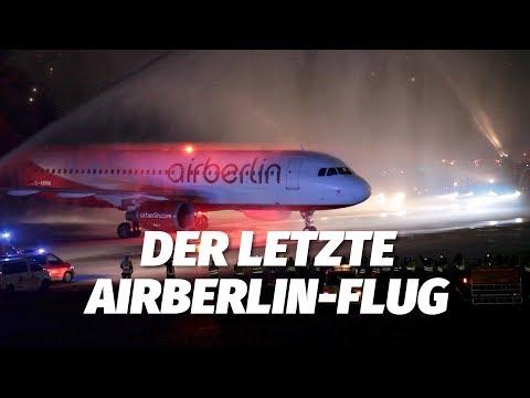 Das War Der Letzte Flug Der Airberlin (Air Berlin AB 6210 / #BER4EVR MUC-TXL)