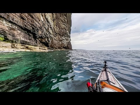 Solo Sea Kayaking Caithness Coast
