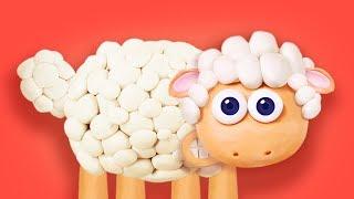 Merry had a little lamb | Nursery Rhyme for Kids with Lyrics | Polly Olly