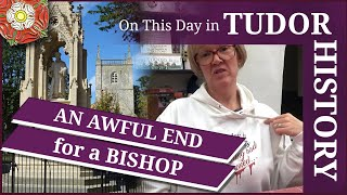 February 9 - An awful end for a bishop