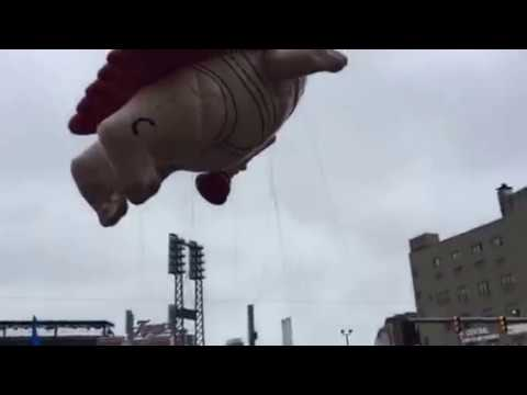 Captain Underpants  Detroit Thanksgiving Day Parade.
